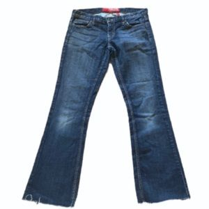 Guess Foxy Flare Jeans with Raw Hem